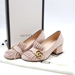 Authentic Gucci Marmont GG Loafer Shoes